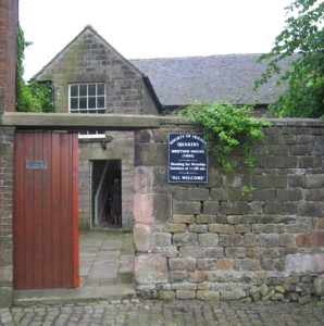 Meeting House from the gate