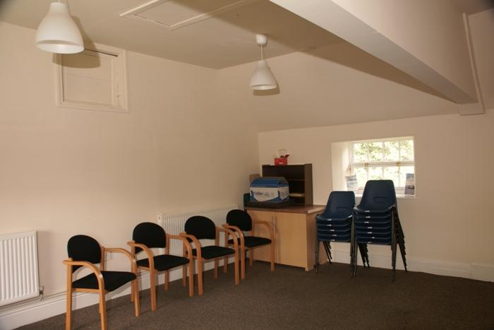 View of upstairs meeting room