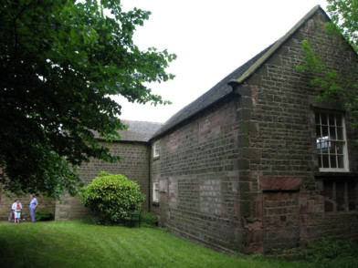 Rear of the Meeting House