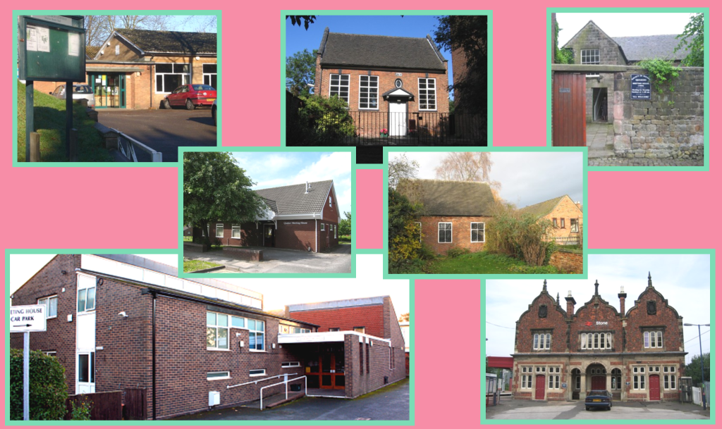 Montage of our Meeting Houses