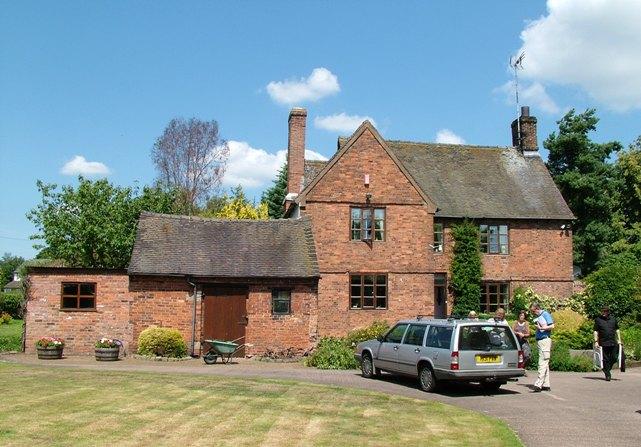 The historic Quaker farmhouse